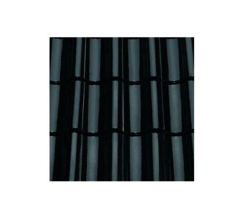 Рядовая черепица ABC TG10 Цвет:бриллиантово-черная глазурь