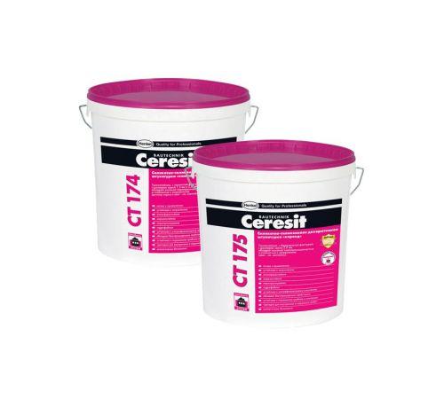 Ceresit СТ174 Штукатурка декоративная силикатно-силиконовая