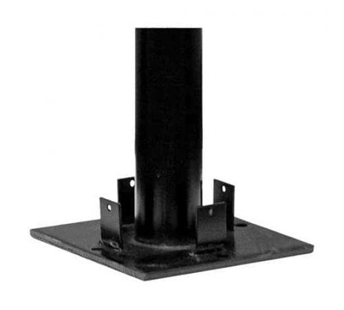 Усиление столба 110 мм, размер фланца 16*16 см, высота 800 мм (+4 анкера/компл.)