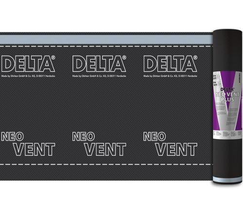 DELTA-VENT NEO диффузионная мембрана с клейкой полосой