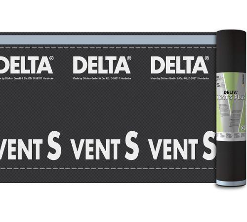 DELTA-VENT S  диффузионная мембрана для сплошного настила