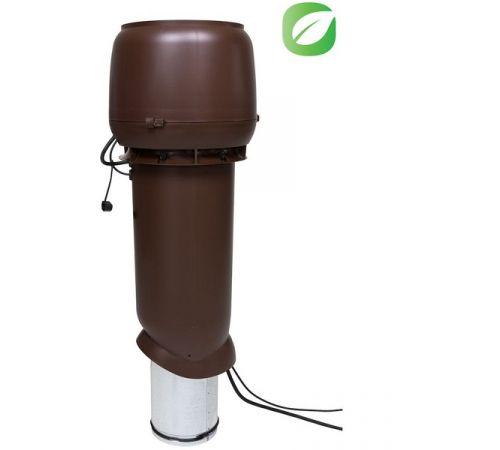ЕСо 220 Р/160/700 вентилятор с шумопоглотителем  черный