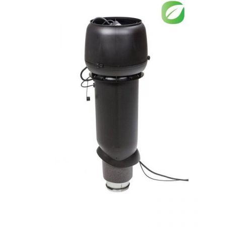 ЕСо 190 Р/125/700 вентилятор с шумопоглотителем черный
