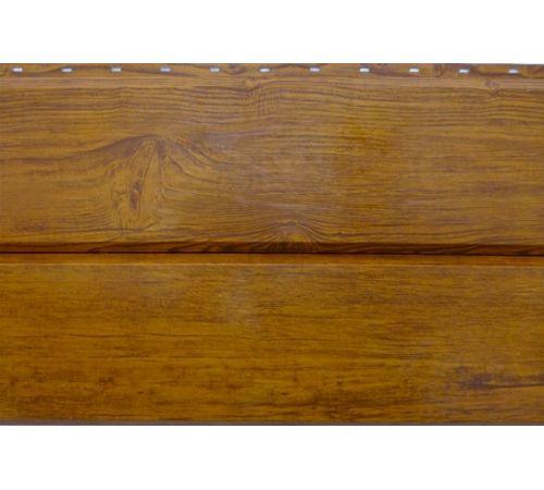 Сайдинг ЭкоБрус GL 0,45 Golden Wood (Золотой Дуб)