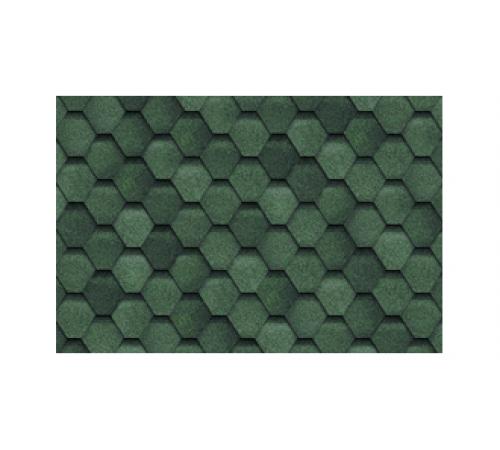 Гибкая черепица Шинглас (Shinglas) ФИНСКАЯ Соната Зеленый