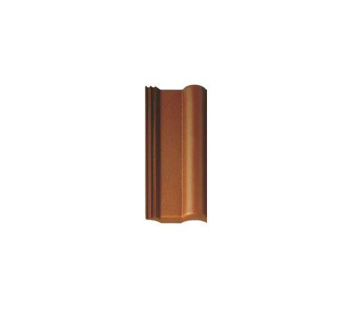 5102212 Половинчатая чер.ФП коричневая R BRAAS