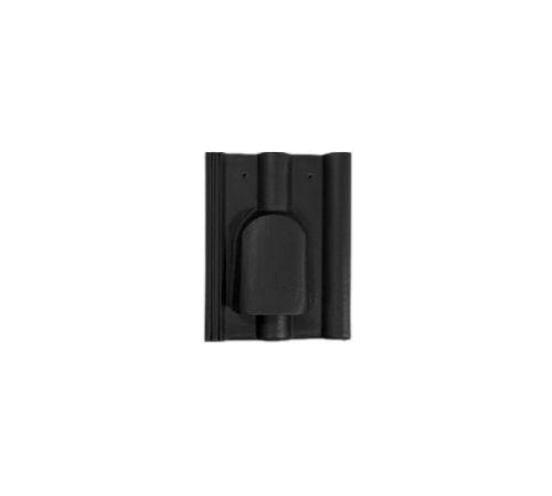 Вентиляционная чер.ФП черная R BRAAS