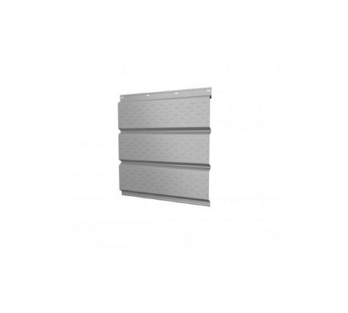 Софит металлический центральная перфорация  0,45 РЕ RAL 9003 белый