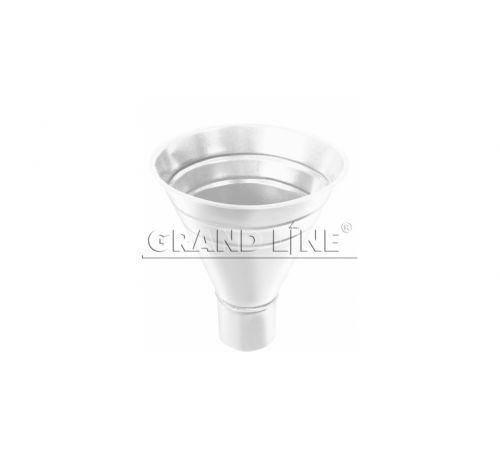 Воронка водосборная  GrandLine (250/90), цвет-9003 (белый)