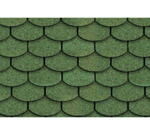 Гибкая черепица Roofshield Family Готик (зеленый )