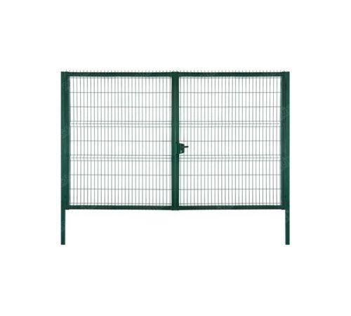Ворота Medium New Lock 2,03х3,5 RAL 6005