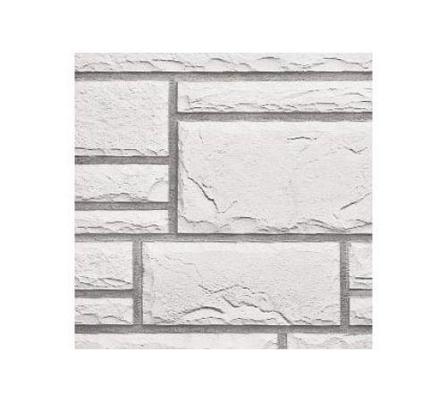Панель камень белый, glacier white, Nailite