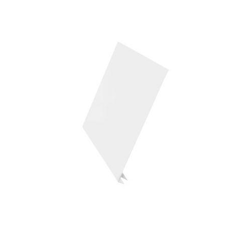J-фаска Aquasystem Сталь оцинкованная (0,45мм) с полимерным покрытием Polyester, цвет RR20, 250x2000