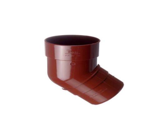Döcke STANDARD Колено 80 мм * 45˚ (Красный 3005)
