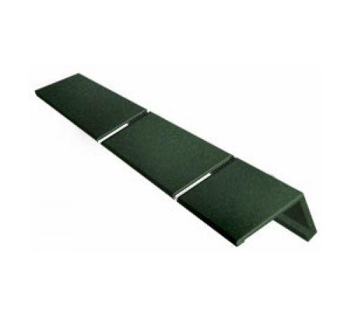 Конек/карниз  Icopal зеленый, 0,25*10/16м.п.