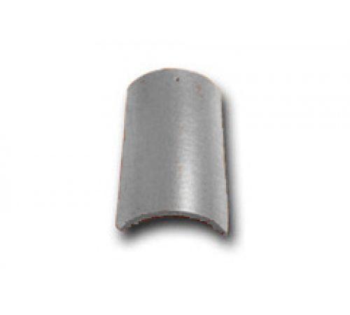 Коньковая черепица с зажимом серый 037