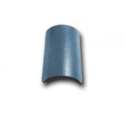 Коньковая черепица с зажимом синий 030