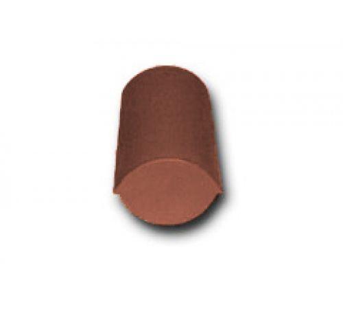 Конечная коньковая черепица коричневый 022