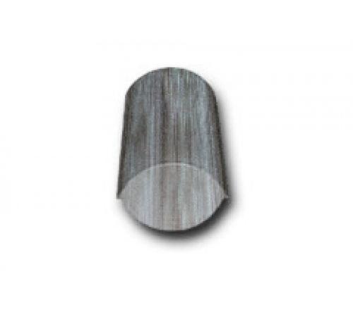 Конечная коньковая черепица серый антик 031