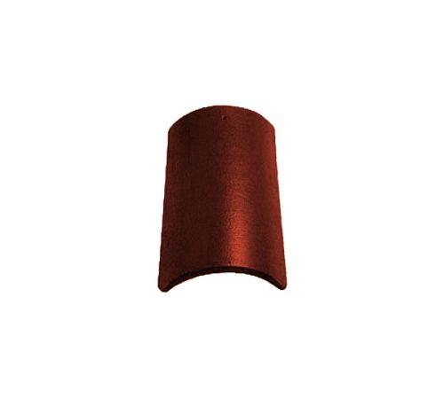 Центральная коньковая чер.Опал глазурь красный бук BRAAS