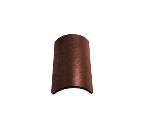 Коньковая чер. Опал матовый т-коричневый  BRAAS