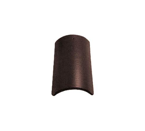 Центральная коньковая чер.Опал глазурь тик(коричневый) BRAAS