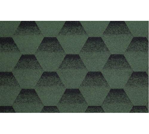 Кровельная плитка зелено-черная