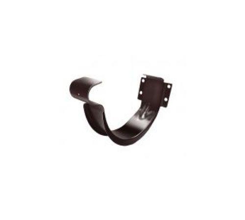 Крюк короткий 125 мм, коричневый RAL 8017