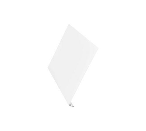 Ветровая планка Aquasystem Сталь оцинкованная (0,45мм) с полимерным покрытием Polyester, цинк 140г, цвет RR20, 200x2000