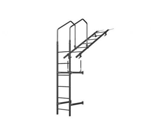 Лестница кровельная стеновая дл 1860 без кронштейнов