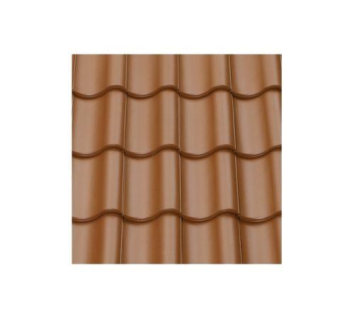 Рядовая черепица ABC TG10 Цвет:медно-коричневый