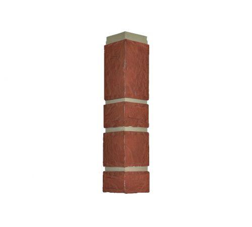 Угол внешний красный камень, corner mountain red.Nailite