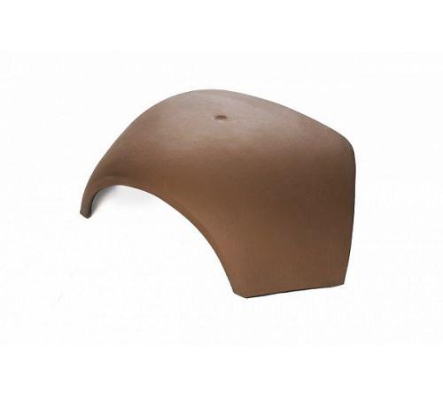 Вальмовая черепица TG10 Цвет:орехово-коричневый