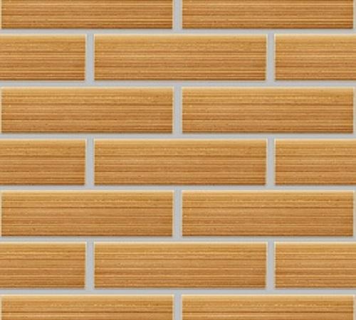 Облицовочная плитка  БАМБУК Песочный горизонтальный