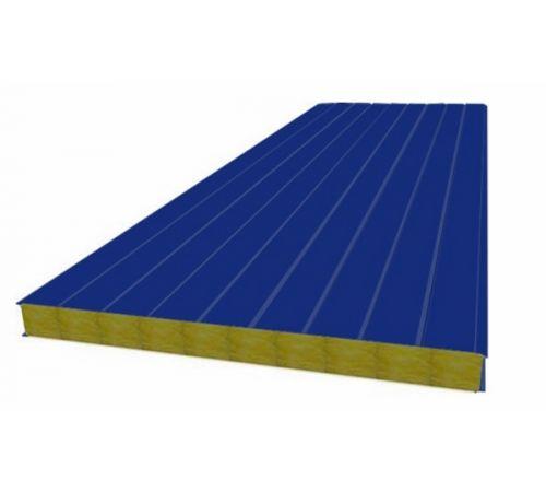 Сэндвич панель стеновая МП 100 RAL 5002/9003 0,5/0,5 мм, ширина 1200 мм