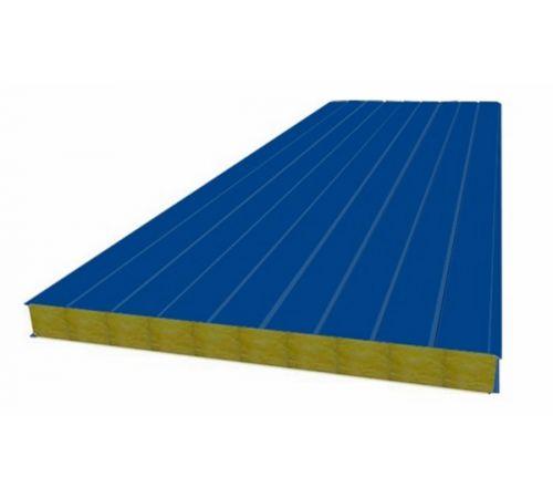 Сэндвич панель стеновая МП 100 RAL 5005/9003 0,5/0,5 мм, ширина 1200 мм