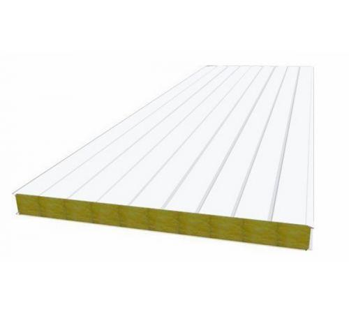 Сэндвич панель стеновая МП 100 RAL 9003/9003 0,5/0,5 мм, ширина 1200 мм