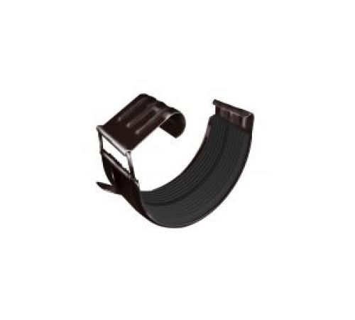 Соединитель желоба GL 125 мм RAL 8017 шоколад