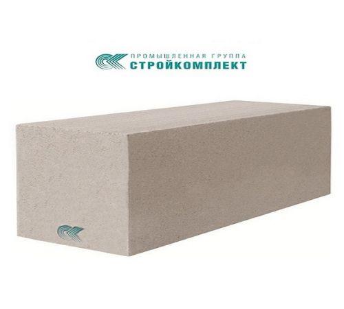 Газобетонный блок СтройКомплект D400 600*250*100 мм
