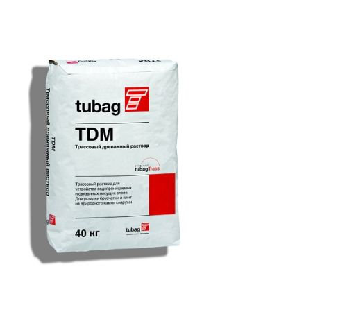 Трассовый дренажный раствор TDM 40 кг Quick Mix