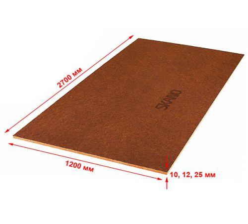 Тепло-звукоизоляционная плита ISOPLAAT 2700х1200х12 (класс Q1 240-270 кг/м³)