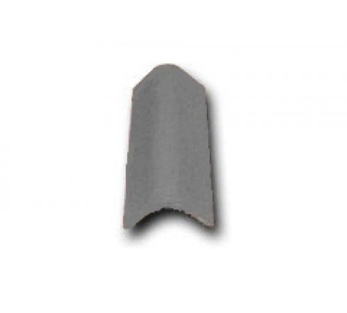 Торцевая черепица серый 037