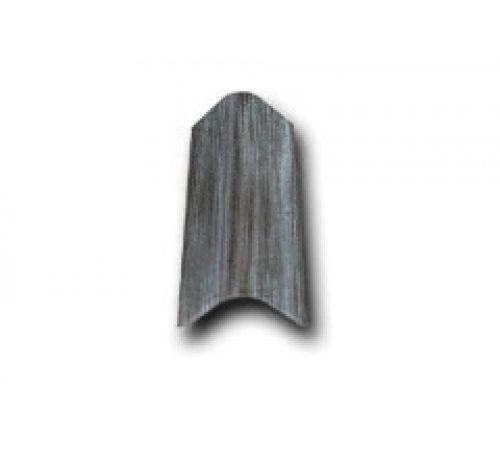 Торцевая черепица серый антик 031