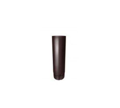 Труба круглая GrandLine L=3м,d=90мм, цвет-8017(коричн.)