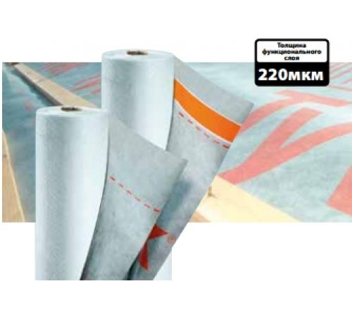 Мембрана гидроизоляционная Tyvek Supro+Tape (1,5х50м)