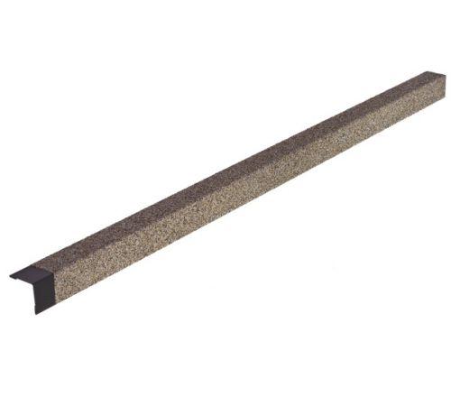 Уголок металлический с посыпкой HAUBERK внешний бежевый