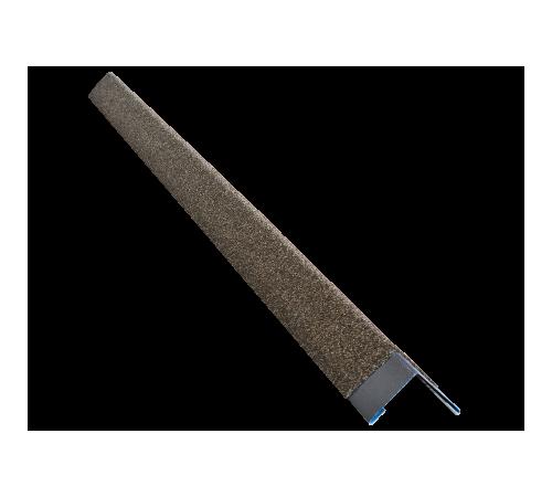Уголок металлический с посыпкой HAUBERK внешний песчаный