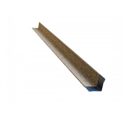 Уголок металлический с посыпкой HAUBERK внутренний песчаный