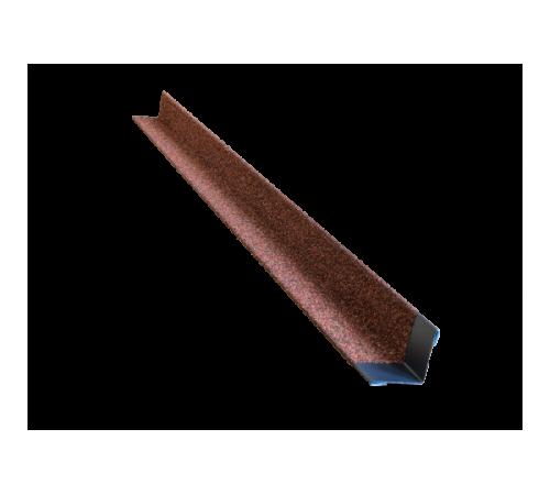 Уголок металлический с посыпкой HAUBERK внутренний обожжённый