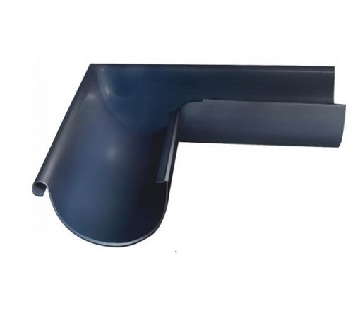 Угол желоба внешний 90гр, 125 мм GrandLine (125/90), цвет-7024